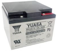 Yuasa REC26-12 Cyclic Battery 12v 26Ah (replaces NPC24-12) From £48.33 EX VAT Buy Online from The Battery Shop